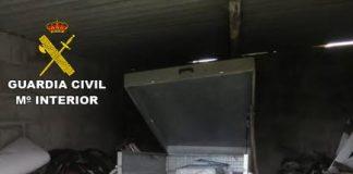 Investigan a un vecino de O Rosal como supuesto autor del robo de un remolque cargado de arquetas metálicas