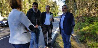 Estudian soluciones para evitar que los animales salvajes entre en el vial de A Guarda a Goián