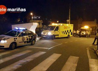 Tres heridos en sendos accidentes de moto en O Val Miñor