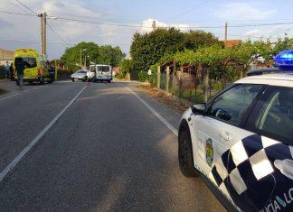 Tres heridos en dos accidentes de circulación en Tomiño