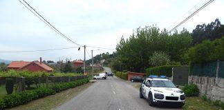 Dos heridos leves en un accidente de tráfico en Tomiño