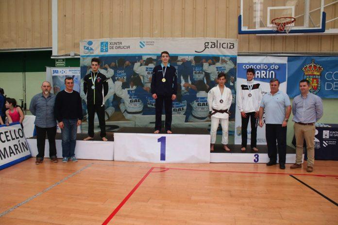Dos judocas tomiñeses en el campeonato gallego de judo
