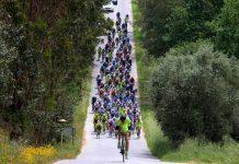 El Club Ciclista Rías Baixas se midió a equipos profesionales en Portugal