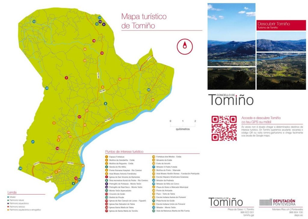 Resultado de imagen de mapa de tomiño