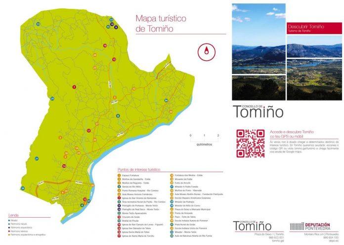 Folletos turísticos de Tomiño en tres idiomas