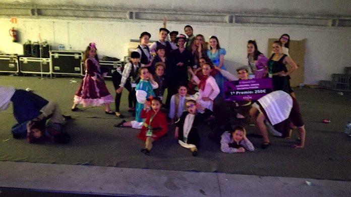 El grupo Giros de Baíña gana un primer premio en Vigo Porté