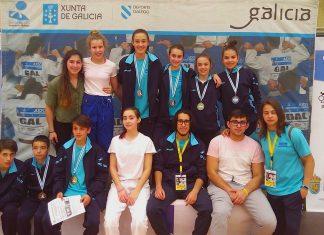 Gran resultado del Club de Judo Baixo Miño en Marín