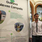 """Inaugurada en O Rosal la exposición """"De Pontevedra a Río 2016"""""""
