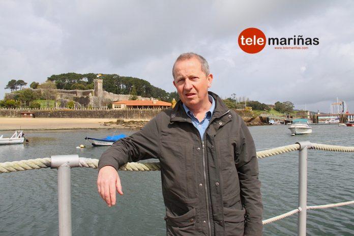 Un inglés promociona desde Baiona el Camino Portugués de la Costa en el exterior