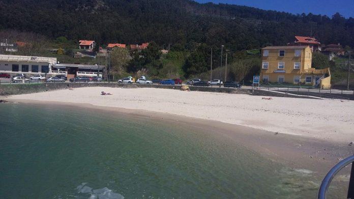 A Guarda limpió los arenas y playas del municipio