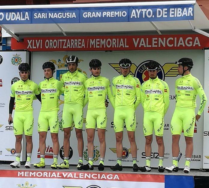 Diego González, del Rías Baixas de Nigrán, batalló en la fuga del día en el Memorial Valenciaga