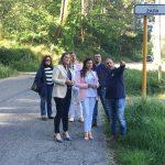 Piden la mejora de la carretera que une Gondomar con Morgadáns