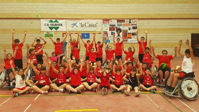 Éxito de la III edición del torneo de basket Sin Barreras en Nigrán