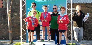 Buenos resultados para el Club de Atletismo Trega en A Coruña