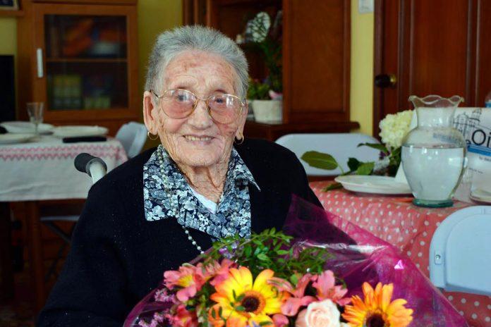 La abuela de Oia cumple 101 años