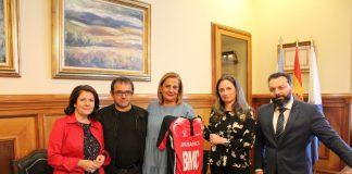 Acuerdo entre la Agrupación Deportiva Vincios y la Diputación de Pontevedra