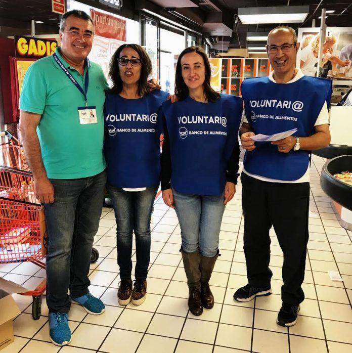 La 'Operación Kilo' del Banco de Alimentos recauda cerca de 15.000 kg en Vigo y A Ramallosa