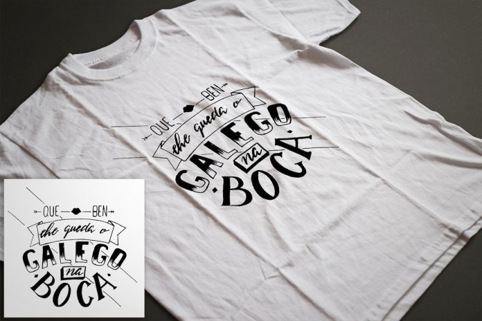 A guardesa Henar Alonso gaña o Concurso De Deseño Da Camiseta Do Día Das Letras Galegas De Tomiño