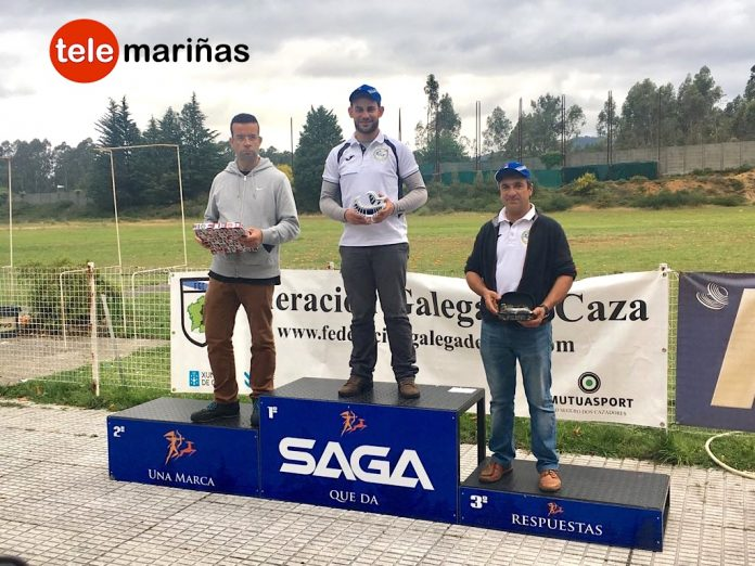BANDALLO // Daniel Domínguez en lo más alto del podium en al campeonato rpovincial de tiro al plato