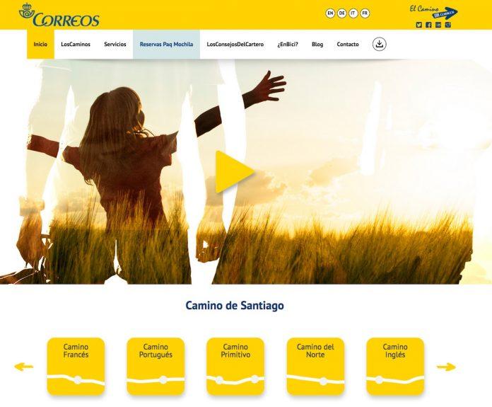 Correos incluye el Camino Portugués desde Tui en su página web