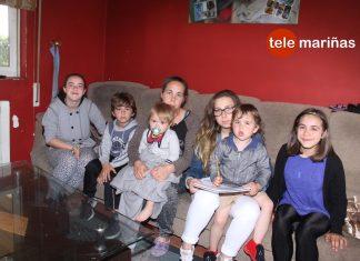 Cortan la luz a una madre de Tomiño con seis hijos