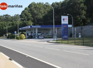 Un encapuchado irrumpe en una gasolinera de A Guarda esgrimiendo un cuchillo y pidiendo dinero