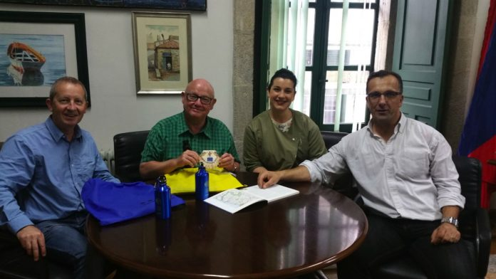 Baiona será protagonista en una guía inglesa del Camino Portugués por la Costa