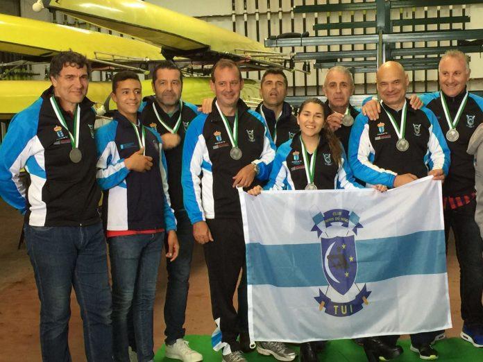 Dos medallas para el Club Remo do Miño Tui-Seta en la regata Copa Presidente da República Portuguesa