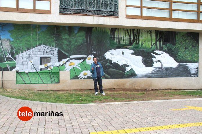 Gondomar presume de mural