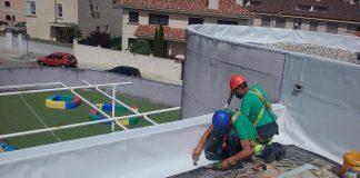 Solucionan los problemas de las goteras en la guardería municipal de Nigrán