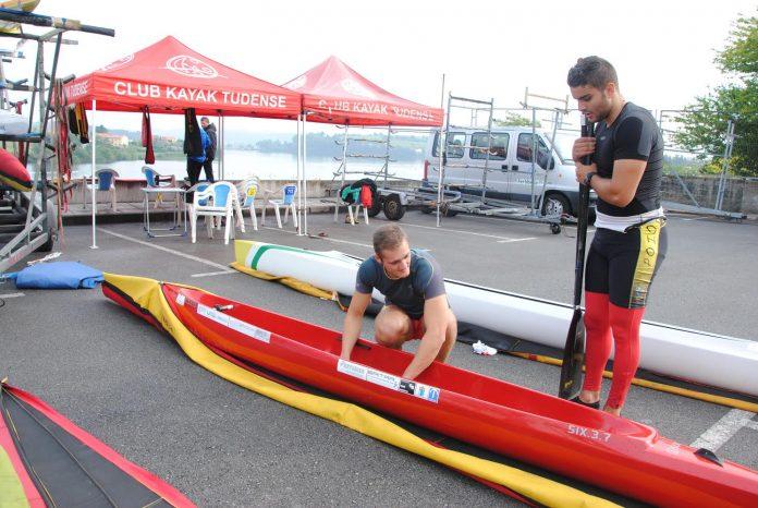 Nueve palistas del Kayak Tudense buscan su billete para el Campeonato de Europa