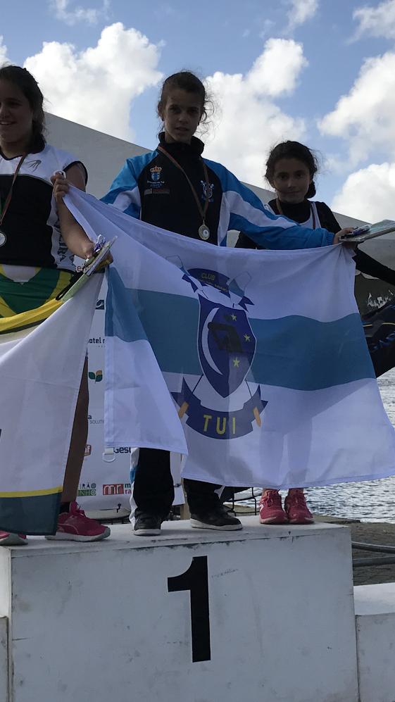 Tres medallas para el Club Remo do Miño Tui-Seta en la Regata Internacional Ponte da Amizade