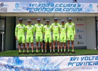 Jesús Nanclares, del Rías Baixas de Nigrán, logra la quinta plaza en la general de la Volta Ciclista á Provincia da Coruña
