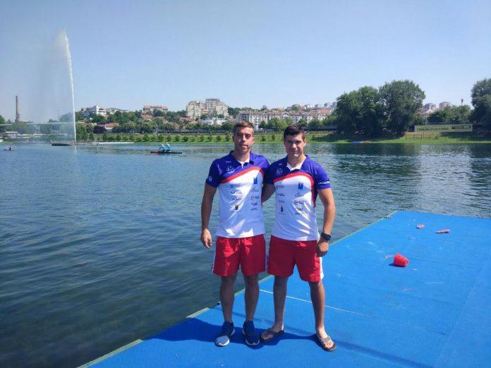 Aarón Diéguez y Brais Casás, del Kayak Tudense, al Campeonato de Europa Sub-23