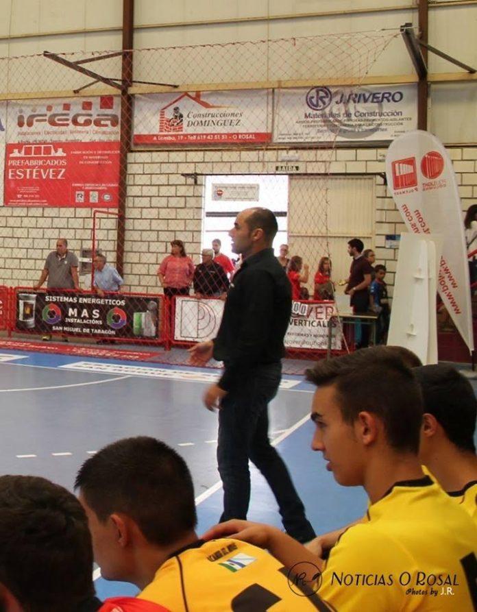 El Acanor Atlético Novás renueva a Germán Fernández