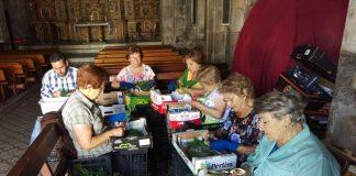 Baiona impulsa las alfombras de 'Corpus Christi' con ayudas de 200 euros