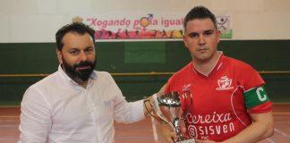 El Cereixa Gondomar, subcampeón de la Copa de Galicia