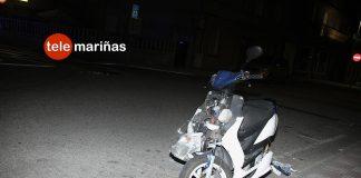 Herido un motorista en Sabarís
