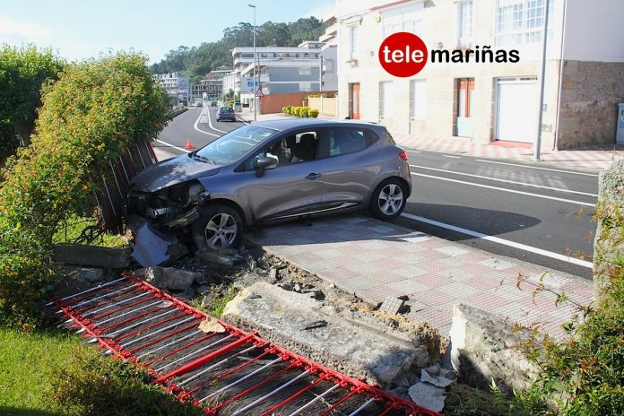 """Es la tercera vez que un coche me tira el muro"""