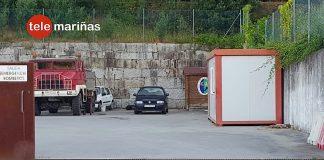 Detenido en A Guarda un conductor portugués ebrio y tras huir al golpear varios coches estacionados en Baiona