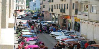 XVIII concentración de coches clásicos en O Baixo Miño
