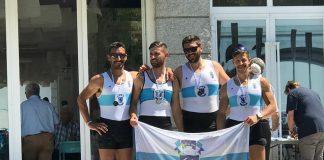 9 medallas de oro, 2 de plata y otras 2 de bronce, para el Club Remo do Miño en el Campeonato Gallego de Remo Olímpico