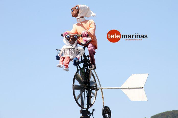 E.T. el extraterrestre, la nueva atracción turística en A Guarda