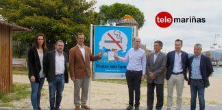 Baiona, primer municipio de España con todas sus playas sin humo