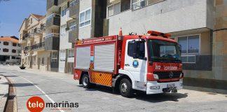 Una sartén al fuego causa un incendio en la cocina de un piso de Panxón