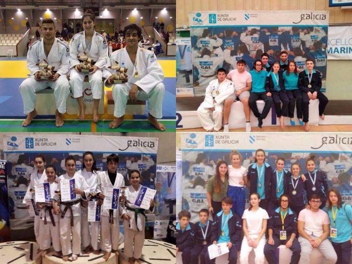 El Club de Judo Baixo Miño, en la recta final de una brillante temporada