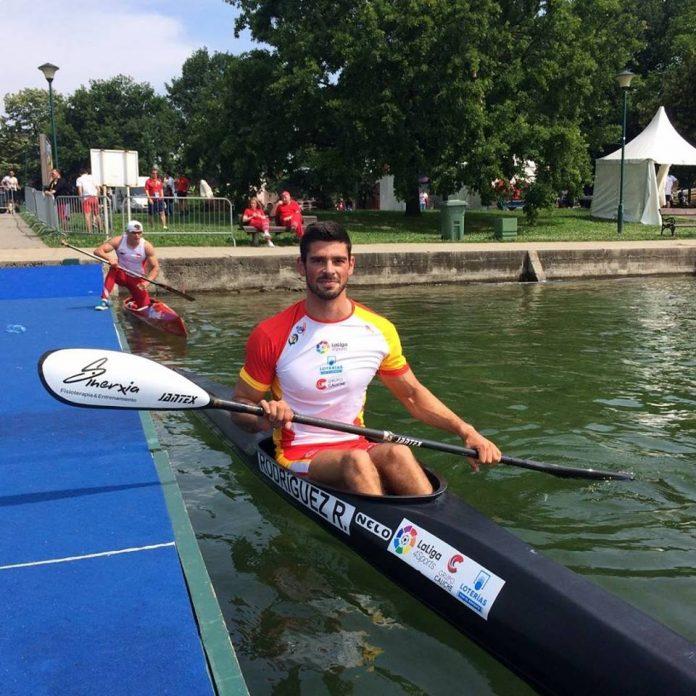 Roi Rodríguez consigue la medalla de bronce en la Copa del Mundo de piragüismo