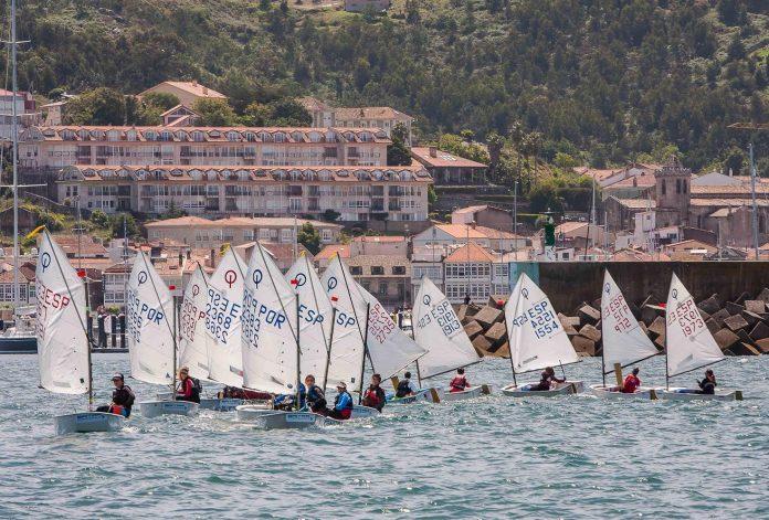 La bahía de Baiona acoge este fin de semana la Final de la Liga Social Baitra