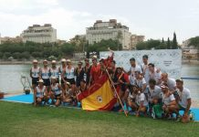 El Club Remo do Miño de Tui destaca en el estatal celebrado en Sevilla