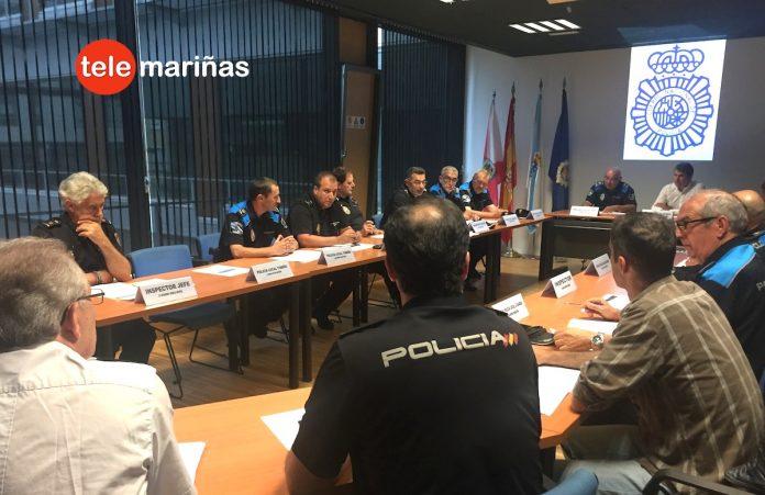 Las Policías Locales de O Val Miñor y O Baixo Miño colaborarán con la Policía Nacional en la lucha contra la delincuencia